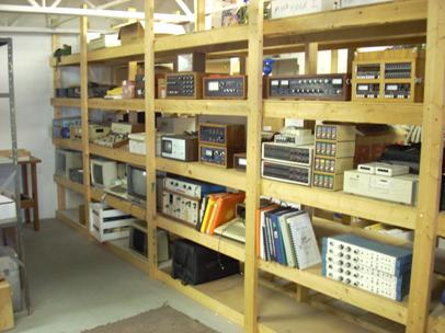 Our collection resides in a loft above the back warehouse